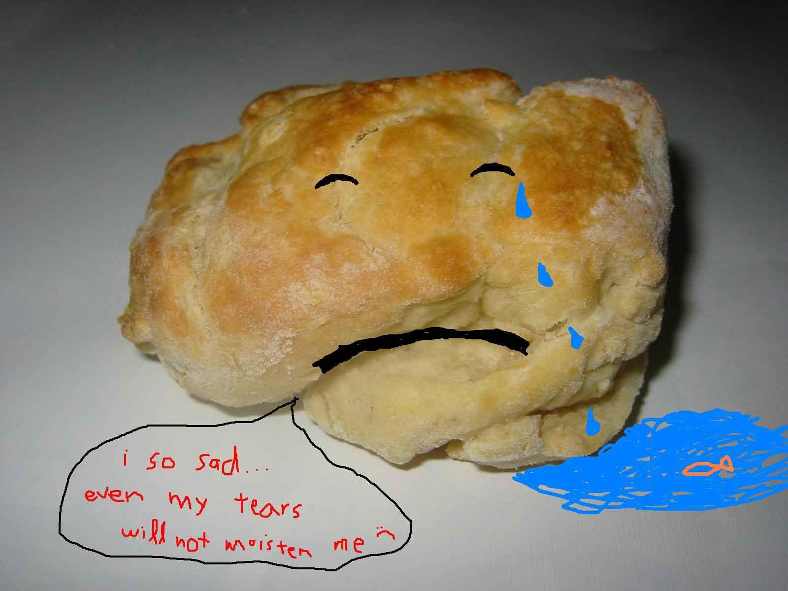 sad scone