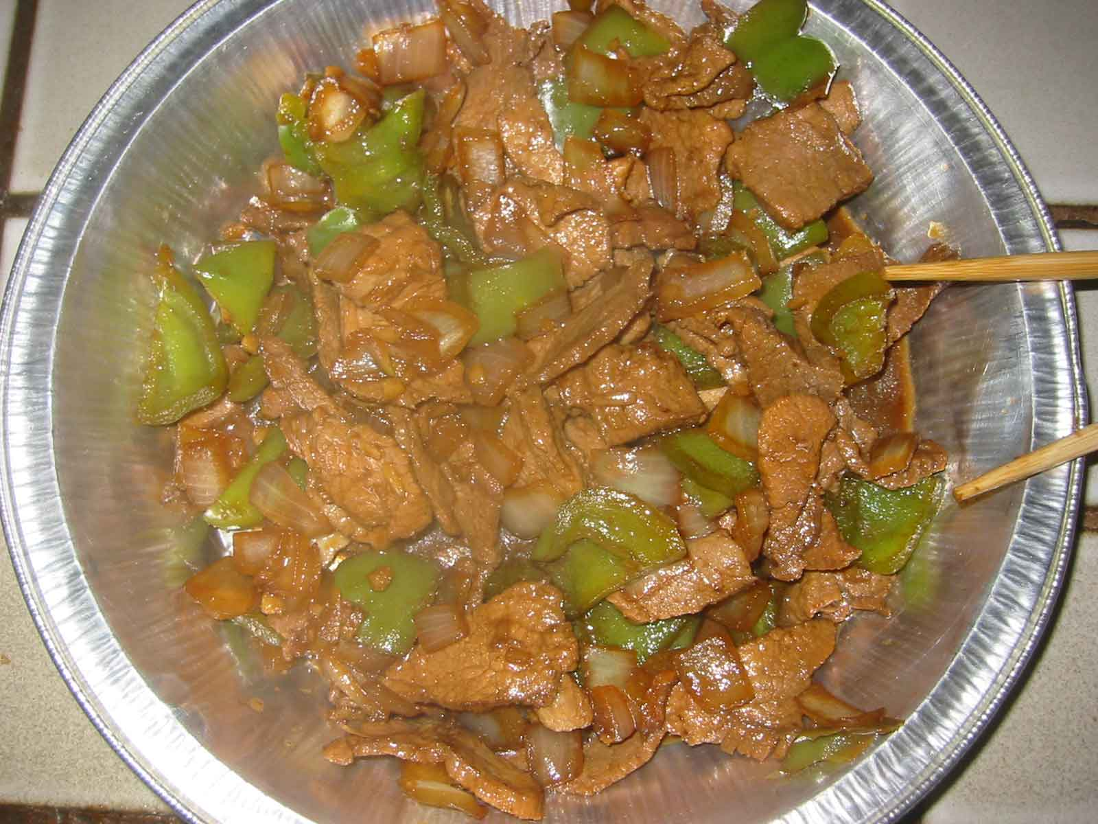 cumin pork stir-fry