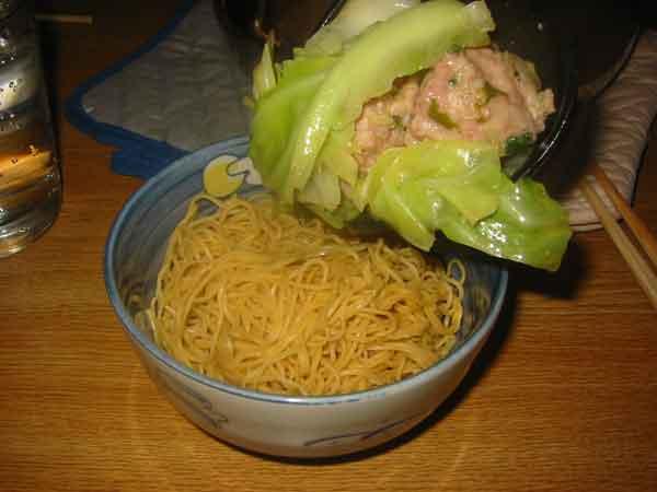 noodles + stuff