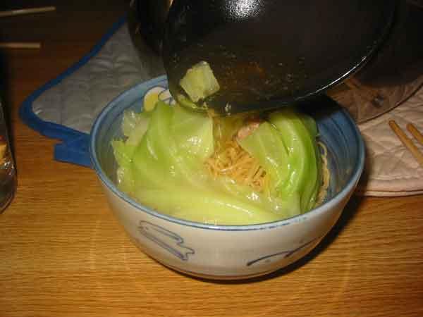 noodles + stuff + soup