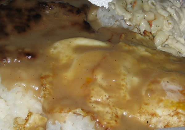 loco moco extreme close-up