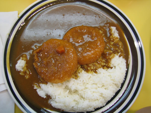 cream corn croquette curry