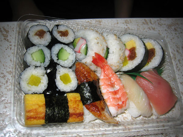 aloha sushi combo