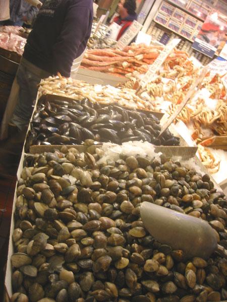 seafood stand