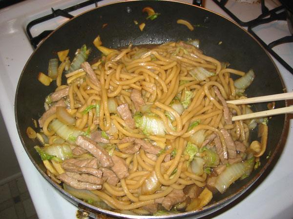 shanghai pork noodles