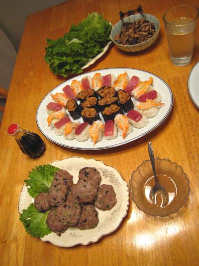 sushi and stuff