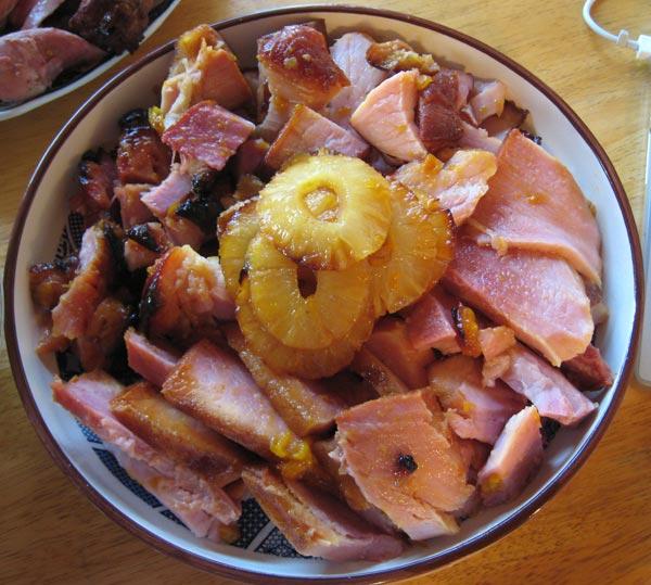 delicious, delicious ham