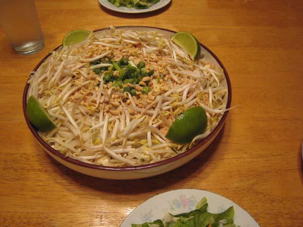 simplified pad thai